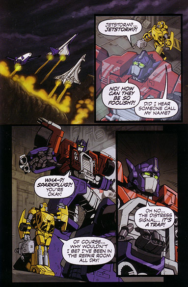 in space  no one can hear starscream