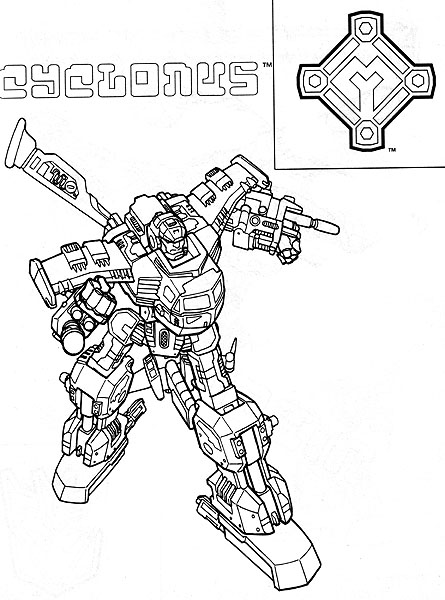 Free coloring pages of starscream transformer for Starscream coloring page