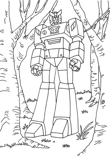 Voltron Foures Free Colouring Pages Voltron Coloring Pages