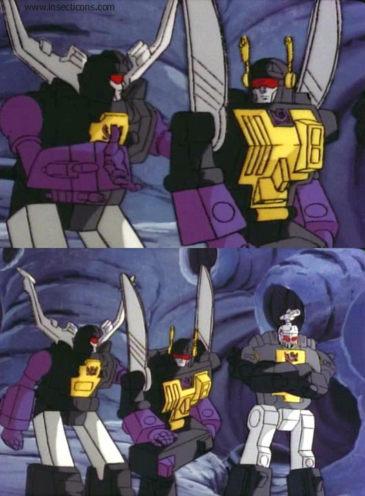 In Space, No One Can Hear Starscream - Screencap Galleries