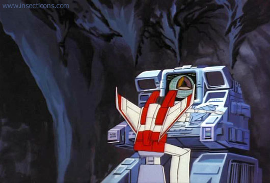 In Space, No One Can Hear Starscream Screencap Galleries